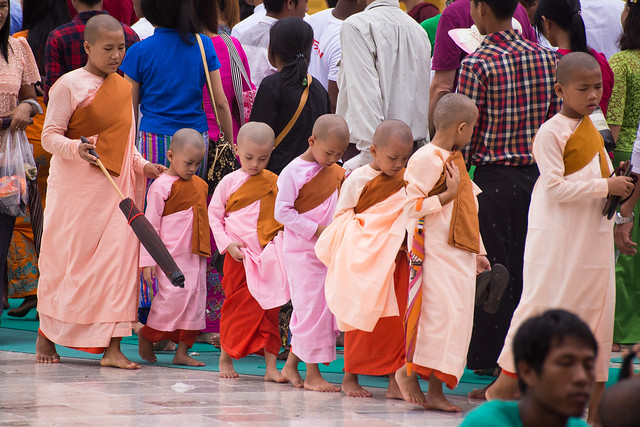 Young Nuns in Yangon