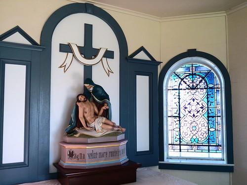 St. Leo woods chapel - pieta
