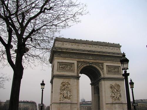 El Arco del Trinufo de París