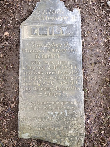 Grave of Emily Kirby 1841 - 1846 | by ddsiple