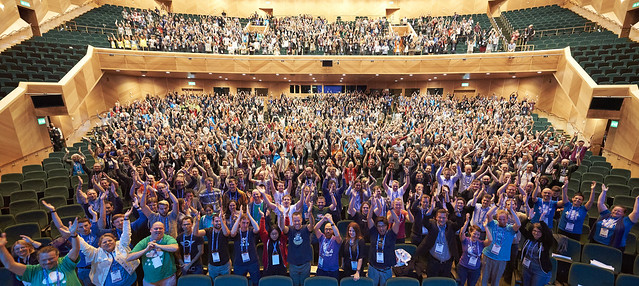 DrupalCon Dublin 2016 Official Group Photo by Drupal Association