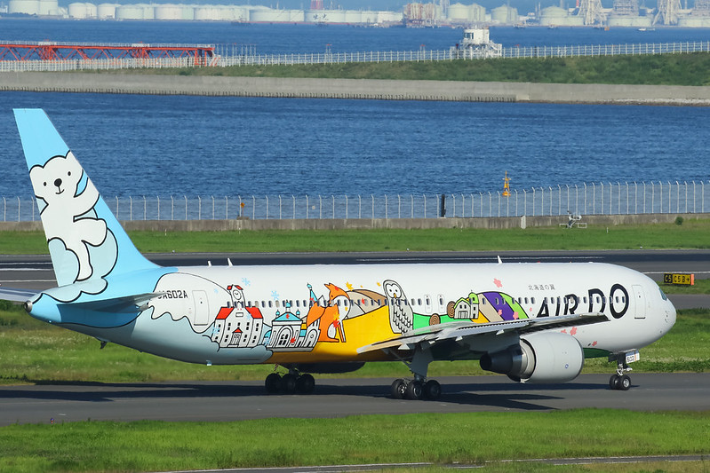 "JA602A  AIR DO ""Beardo Hokkaido Jet"" ベア・ドゥ北海道JET"