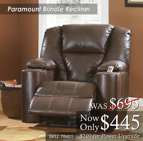 Paramount Brindle Recliner
