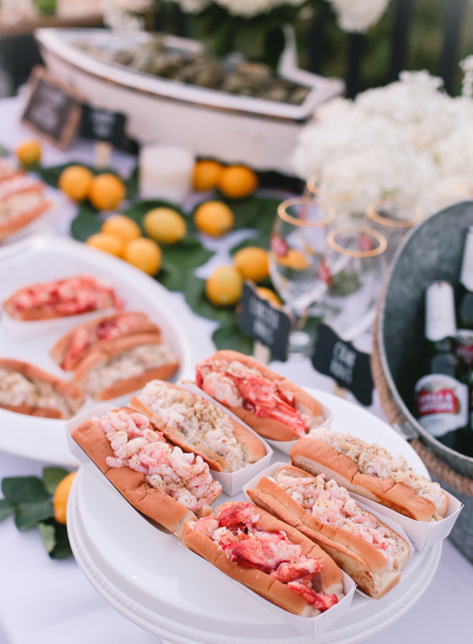 new england seafood party food_crab shrimp rolls lukes lobster