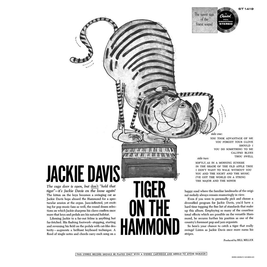 Jackie Davis - Tiger on the Hammond