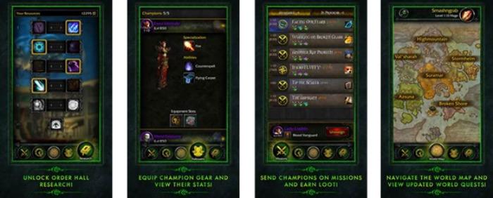 Nueva app WoW: Legion Companion ya disponible