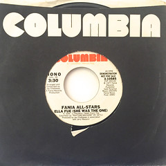 FANIA ALL-STARS:ELLA FUE(SHE WAS THE ONE)(JACKET A)