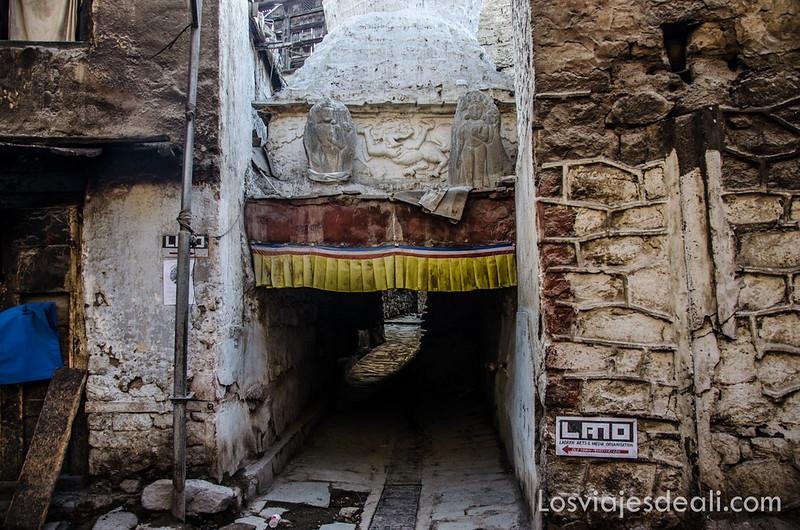 Leh calles de la ciudad vieja