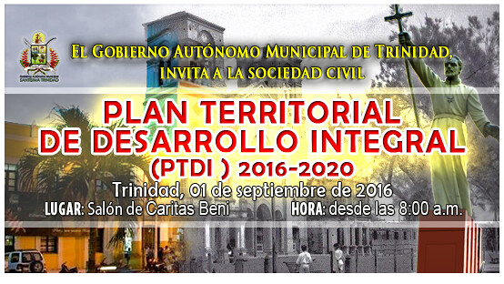 PLAN TERRITORIAL DE DESARROLLO INTEGRAL 2016-2020