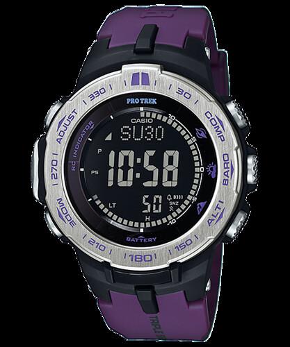 Reloj Casio Pro Solar Trek 3 Sensores Hombre PRW3100-6