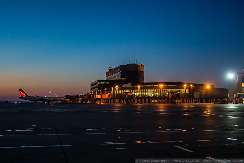 Moscow, Sheremetyevo airport, Russia - June 04, 2016: