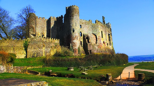 Laugharne Castle Wales #dailyshoot