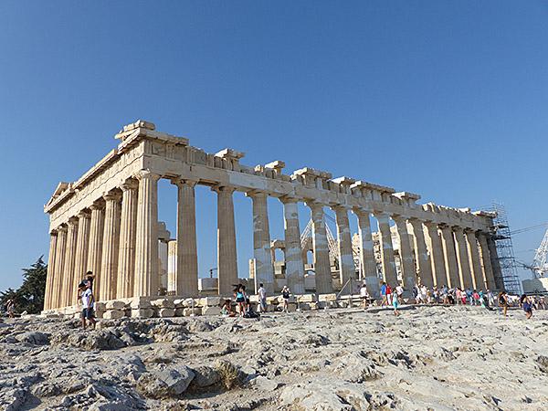 encore le Parthénon