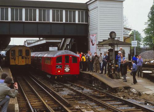 Starlight Express tour Harrow & Wealdstone May 1985