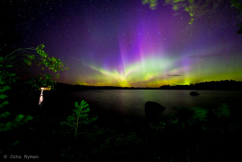 Strong Northern Lights