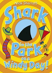 Nick Sharratt, Shark in the Park on a Windy Day