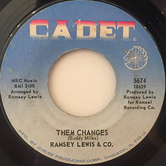 RAMSEY LEWIS & CO.:THEM CHANGES(LABEL SIDE-A)