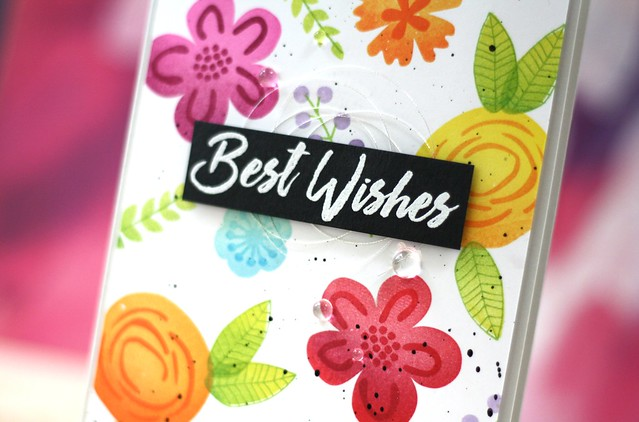 STAMPtember®-My Favorite Things-Best Wishes Blooms