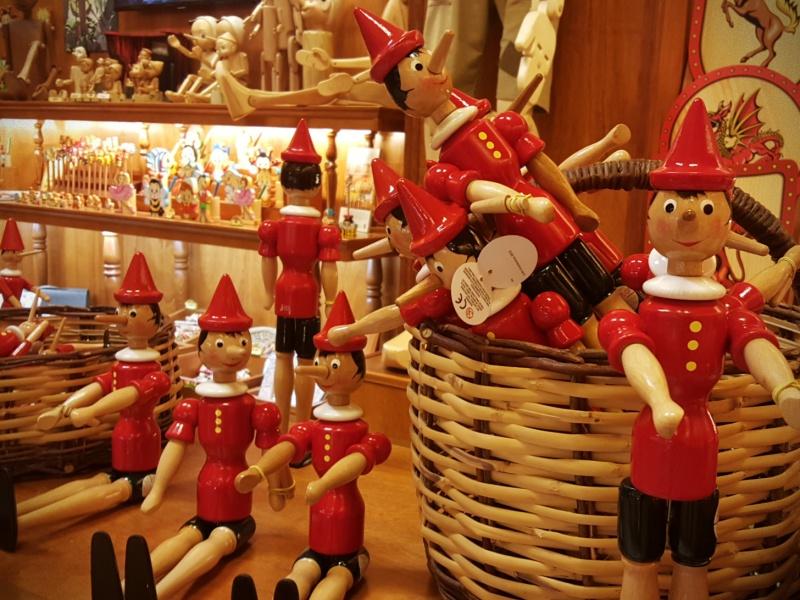 Pinocchio shop Rome