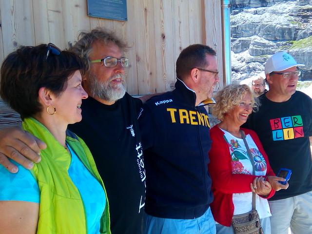 110 anni rifugi Tuckett e Quintino Sella