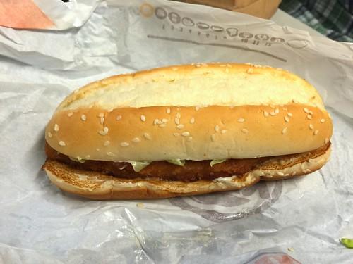 Burger King Long Chicken