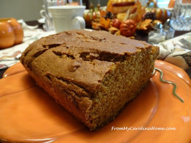 Pumpkin Orange Bread ~ From My Carolina Home