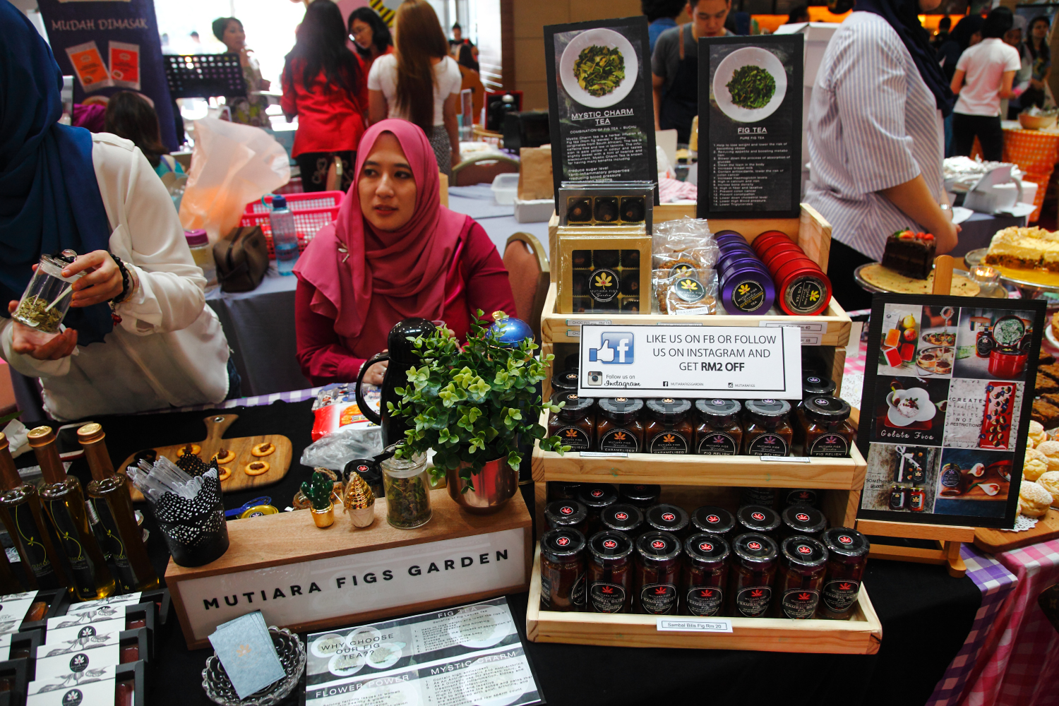 Mutiara Figs Garden Maple Food Market