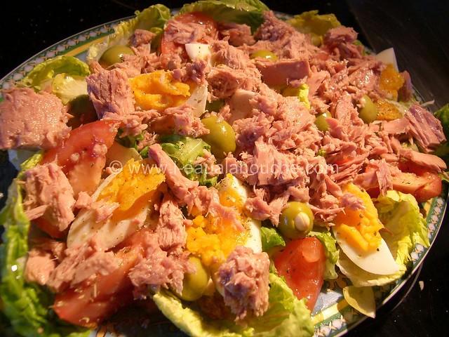Salade Mêlée au Thon © Ana Luthi Tous droits réservés 003