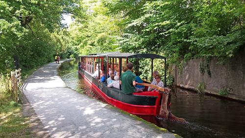 Horse boat, Llangollen