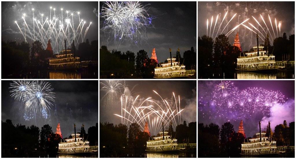 fireworks horizontal