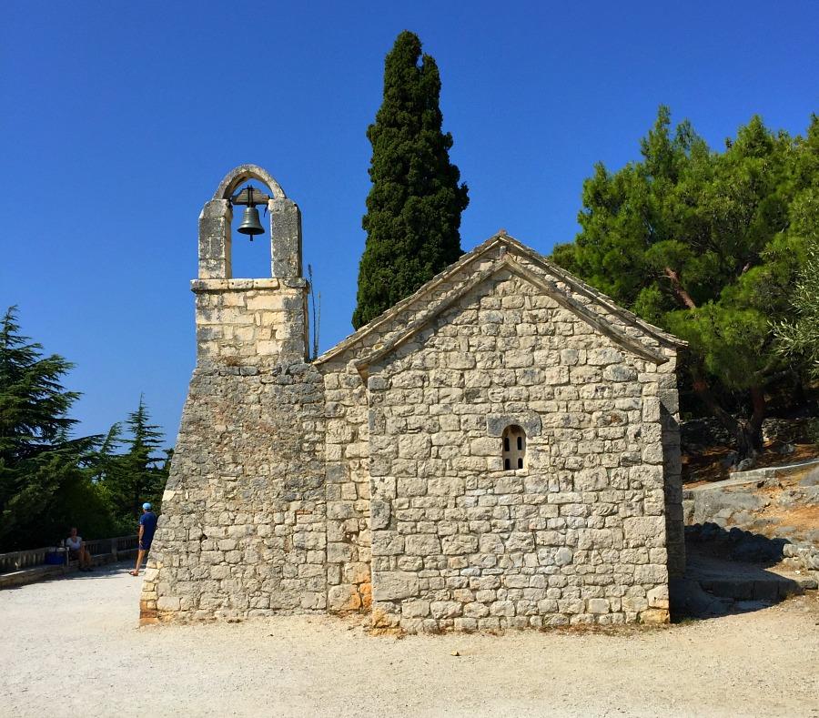 Split National Park Stone Church