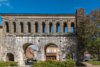 Porte Saint-André - Stadttor der römischen Stadt Augustodunum