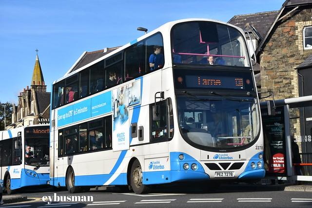 Translink Ulsterbus 2278, PEZ7278.