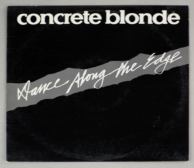 """CONCRETE BLONDE DANCE ALONG THE EDGE WHITE LABEL PROMO 12"""" MAXI-SINGLE"""