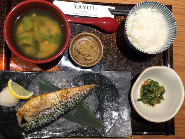 Yayoi Japanese Teishoku Restaurant Manila- Saba Shio Teishoku P425