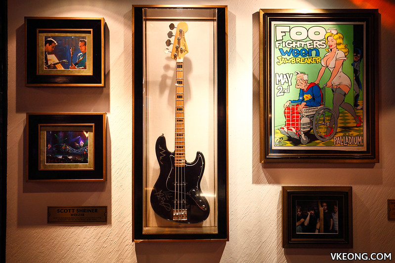 Hard Rock Cafe KL Memorabilia