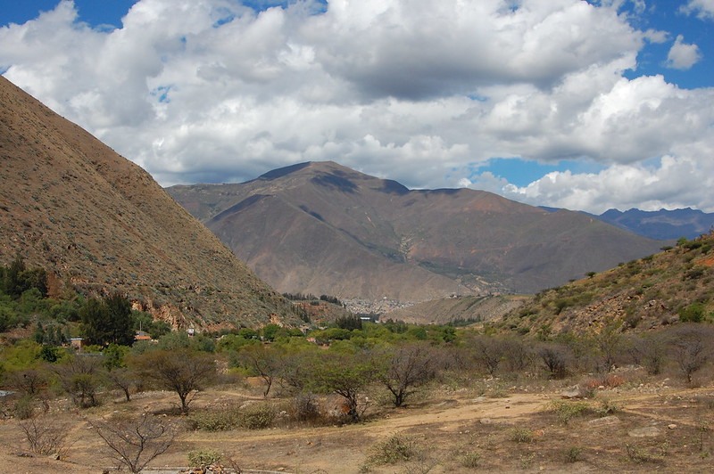 Views from Kotosh, Huánuco, Peru