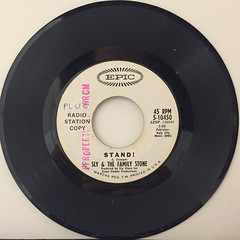 SLY & THE FAMILY STONE:STAND!(RECORD SIDE-A)