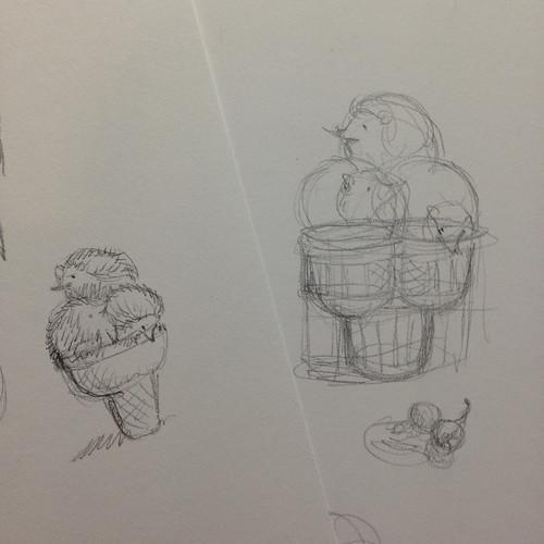 Illustration Friday: Ice