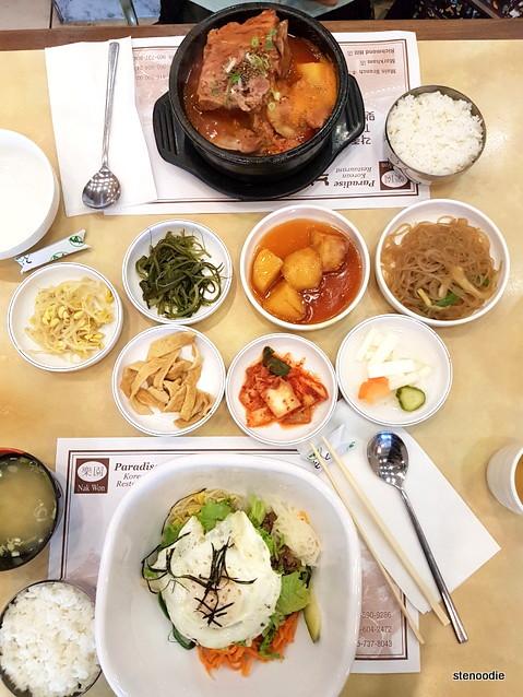 Lunch at Nak Won Korean Restaurant