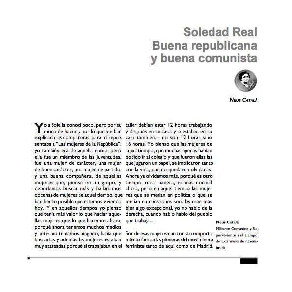 "Pàgines del llibre ""Las ventanas de Soledad Real"" 1"