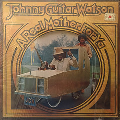JOHNNY GUITAR WATSON:A REAL MOTHER FOR YA(JACKET A)