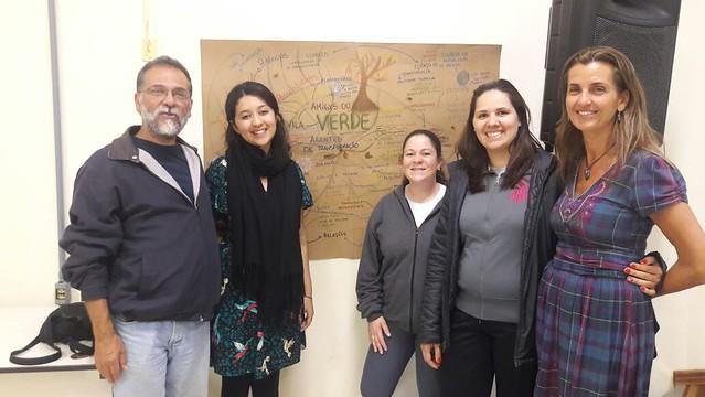 Encontro Entre Escolas Vila Verde (GO) e Amigos do Verde (RS)