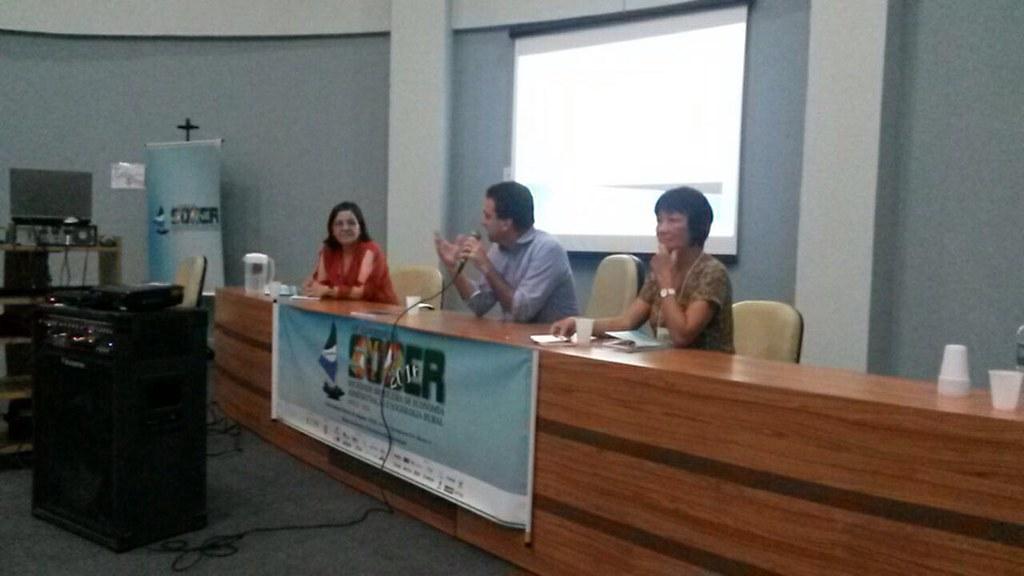 Projeto é destaque em sessão sobre mudança climática em congresso