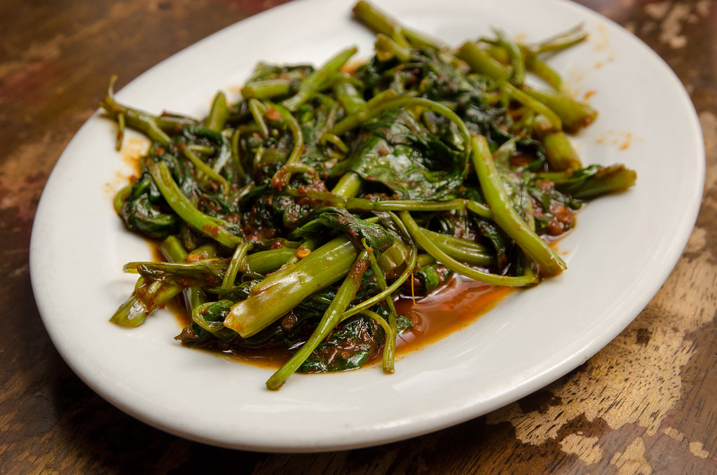 Far East Cafe's Kangkung Belacan