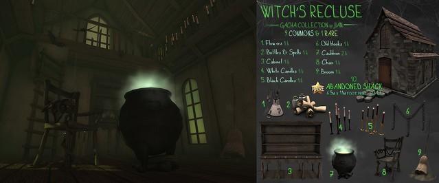 JIAN @ Salem \\ Witch's Recluse Gacha Key