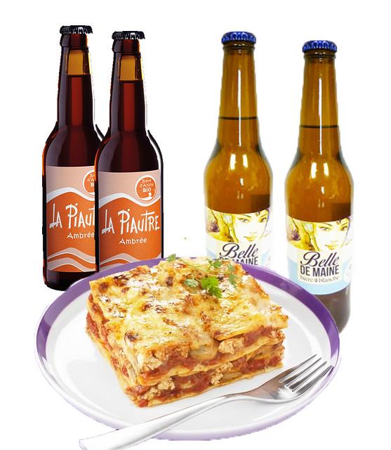 lasagnes bières