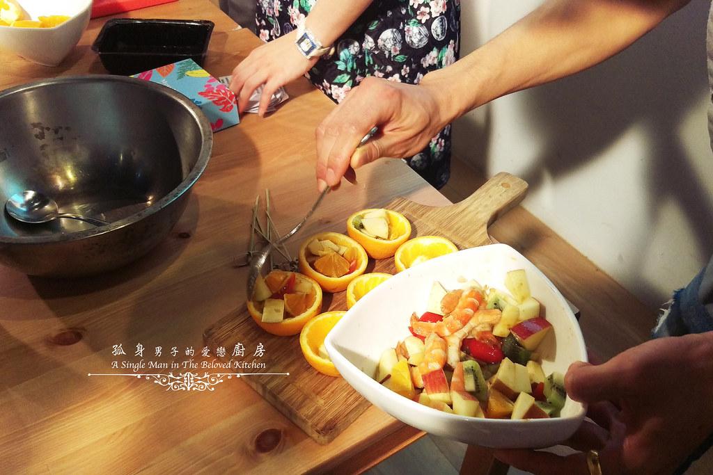 孤身廚房-超乎想像!解凍即食和現煮的一樣好吃—Mess Maker.蝦攪和.冷泡蝦(活動現場)9