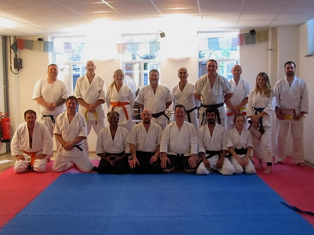 Aikido Spirit grading 24th July 2016