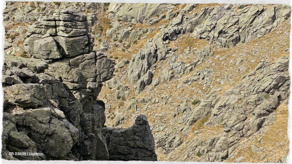 YGRITE LA SALVAJE - 120 m 7a ( 6b Ao ) - El TRONO DE PIEDRA - VILLAREJO